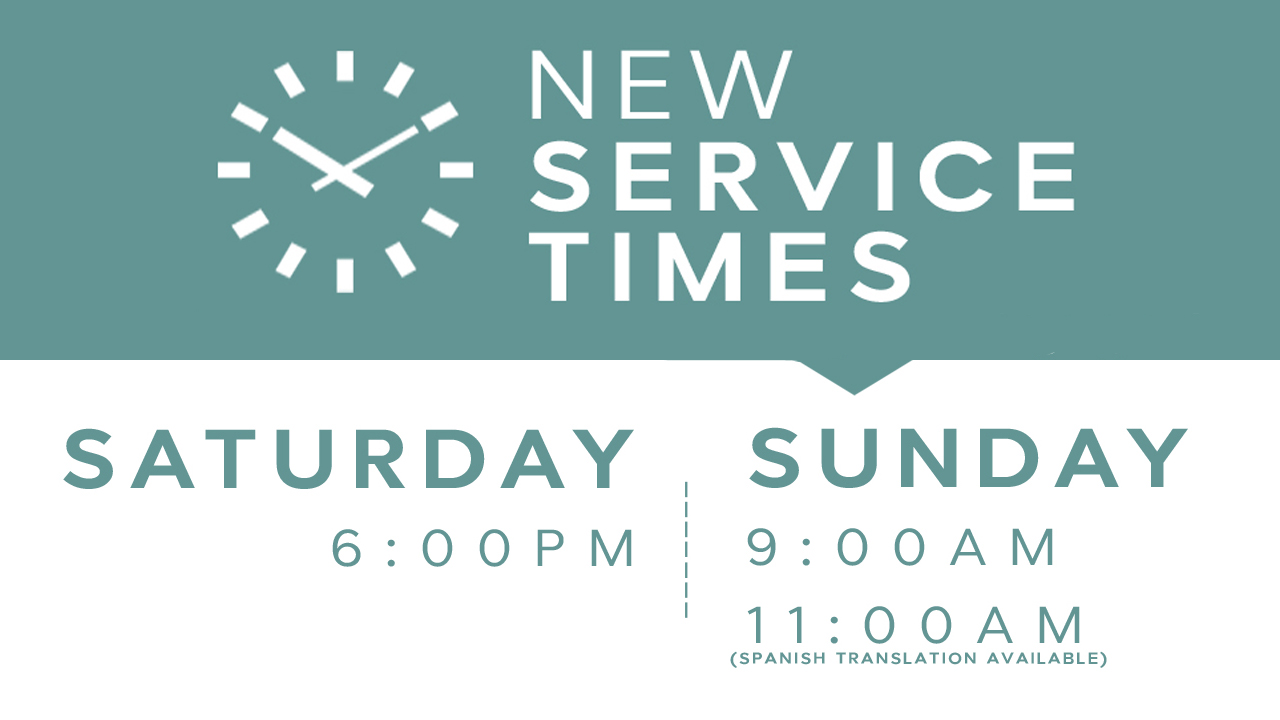 new-service-times-no-date